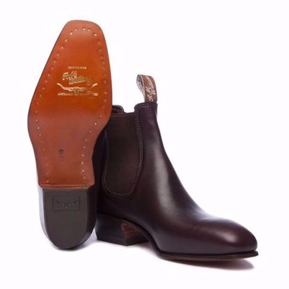 Cleve (B525Y) – Craftsman with Block Heel Made-to-Order