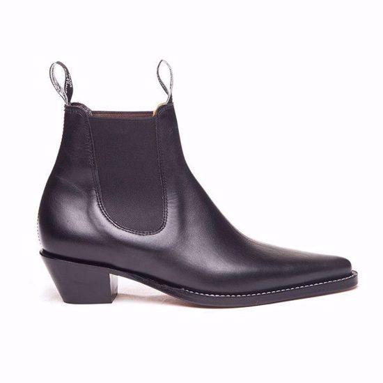 Millicent Boot Medium Heel Needle Toe